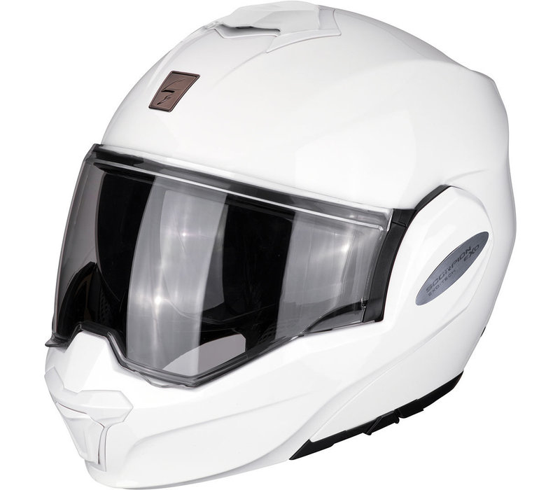 Buy Scorpion Exo-Tech Solid White Helmet? + Free Shipping!