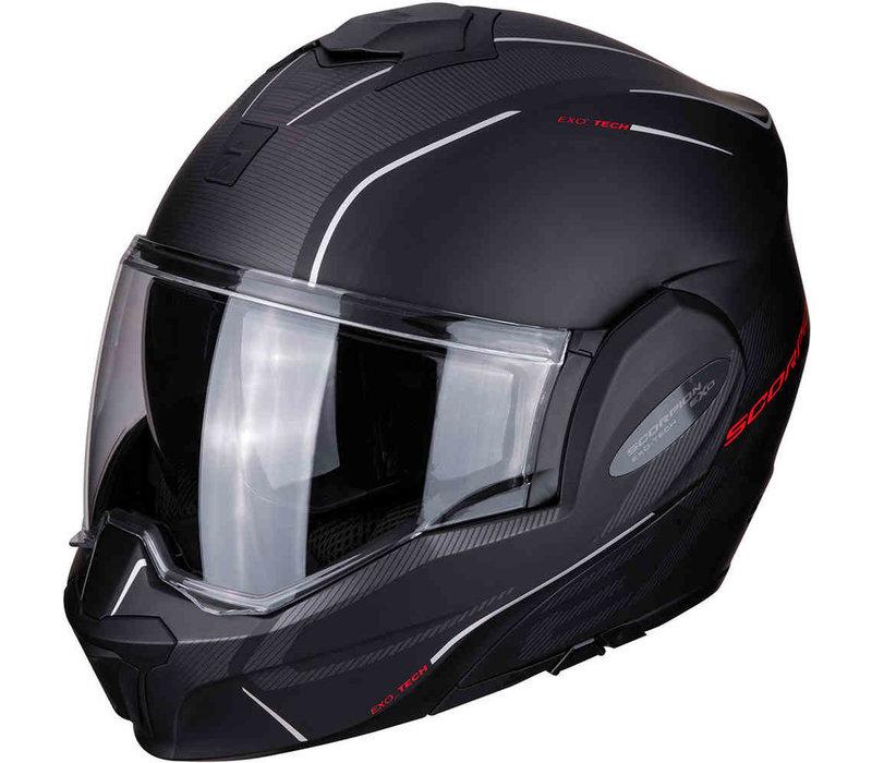 Buy Scorpion Exo-Tech Time-Off Matt Black Rot Helmet? + Free Shipping!