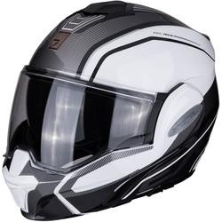 Scorpion Buy Scorpion Exo-Tech Time-Off Pearl White Silver Helmet? + Free Shipping!