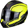 Scorpion Buy Scorpion Exo-Tech Time-Off Neon-Yellow Silver Helmet? + Free Shipping!