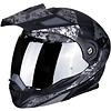 Scorpion Buy Scorpion ADX-1 Battleflage Matt Black Silver Helmet + Free Shipping!