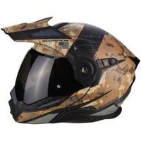 Scorpion ADX-1 Battleflage Sandy Grijze Helm kopen + Gratis Verzending & Retour!