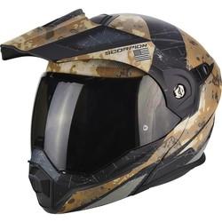 Scorpion Scorpion ADX-1 Battleflage Sandy Grijze Helm kopen + Gratis Verzending & Retour!