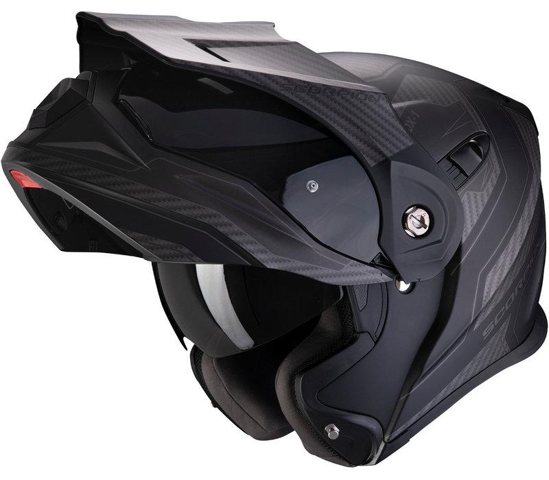 Buy Scorpion ADX-1 Tucson Matt Black Carbon Helmet + Free Shipping!