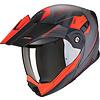 Scorpion Scorpion ADX-1 Tucson Cement Matt Grijs Rode Helm kopen + Gratis Verzending & Retour!