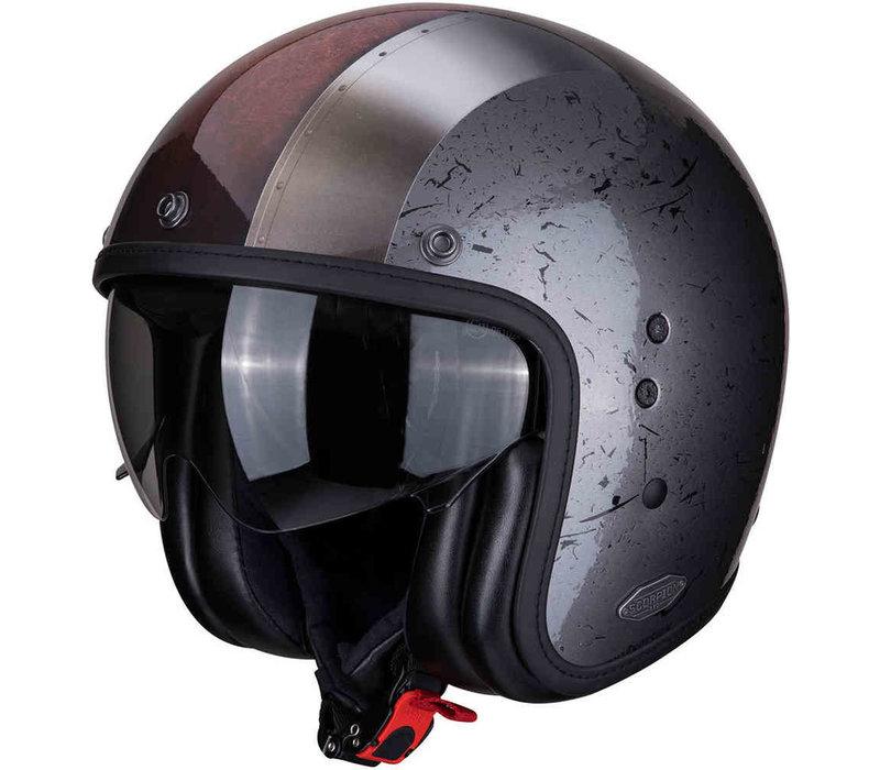 Buy Scorpion Belfast Byway Silver Helmet + Free Shipping!