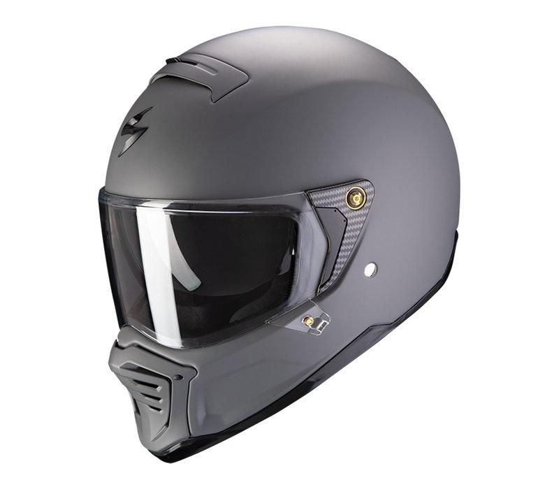 Scorpion Exo-HX1 Solid Matt Cement Grijze  Helm kopen + Gratis Verzending & Retour!