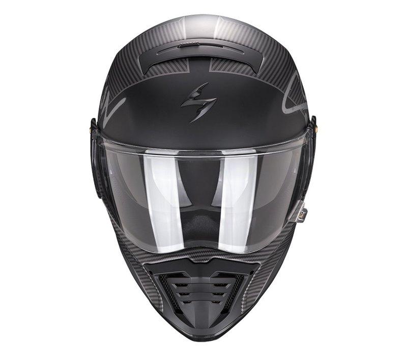 Buy Scorpion Exo-HX1 Taktic Matt Black Silver Helmet + Free Shipping!