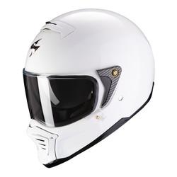 Scorpion Scorpion Exo-HX1 Solid Witte Helm kopen + Gratis Verzending & Retour!