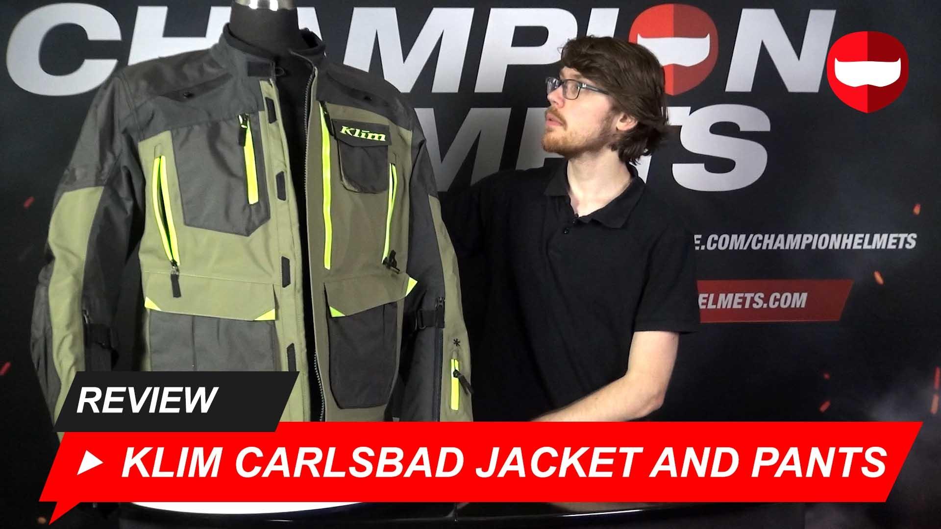 Klim Carlsbad Jacket and Pants Review + Video
