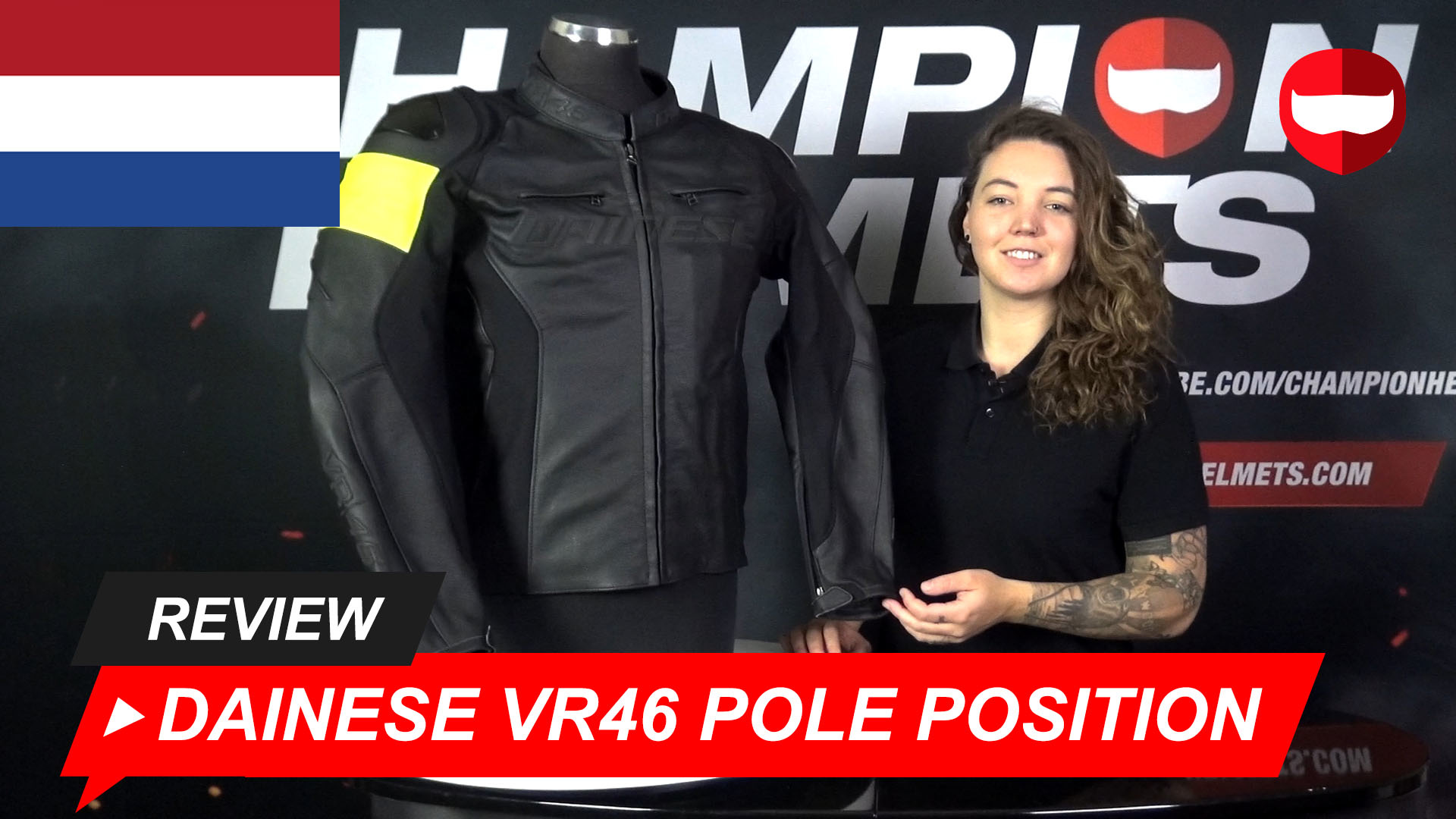 Dainese VR46 Pole Position Jas review + Video