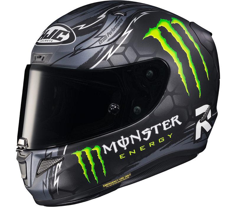 Buy HJC RPHA 11 Crutchlow Replica Black Helmet? Free Additional Visor!