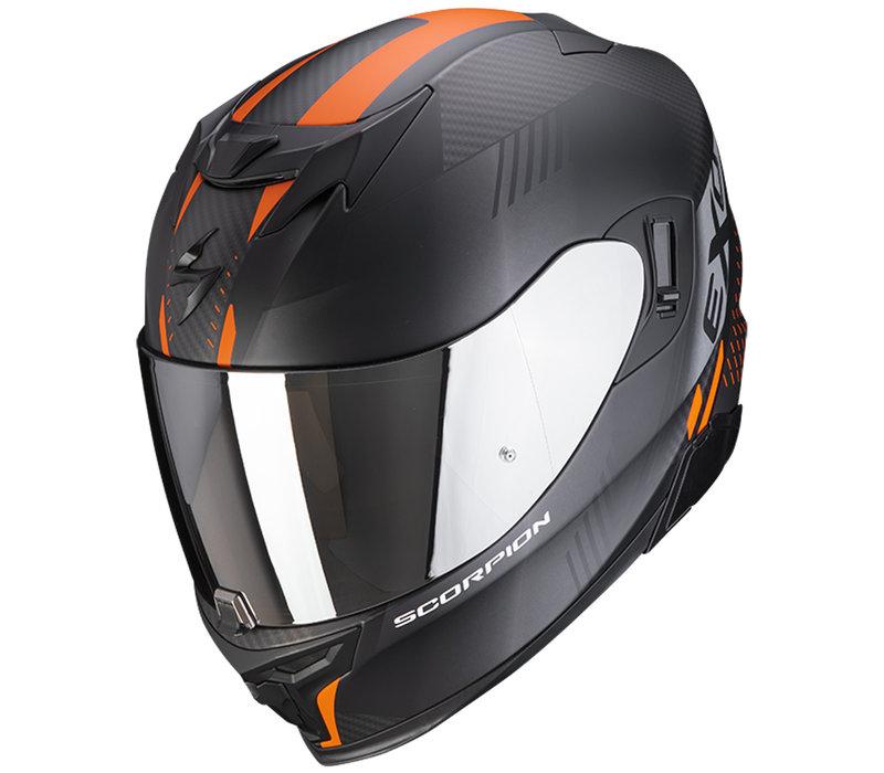 Scorpion Exo 520 Air Laten  Helmet Matt Black Orange + Free Shipping!