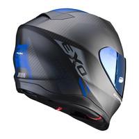 Scorpion Exo 520 Air Laten  Helmet Matt Black Blue + Free Shipping!