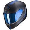 Scorpion Scorpion Exo 520 Air Laten  Helmet Matt Black Blue + Free Shipping!