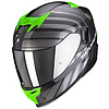 Scorpion Scorpion Exo 520 Air Shade Helmet Black Green + Free Shipping!