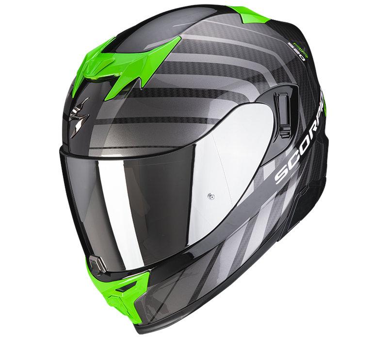 Scorpion Exo 520 Air Shade Helmet Black Green + Free Shipping!
