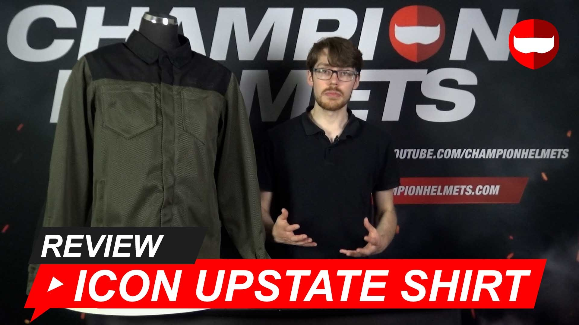 Icon Upstate Shirt Review + Video