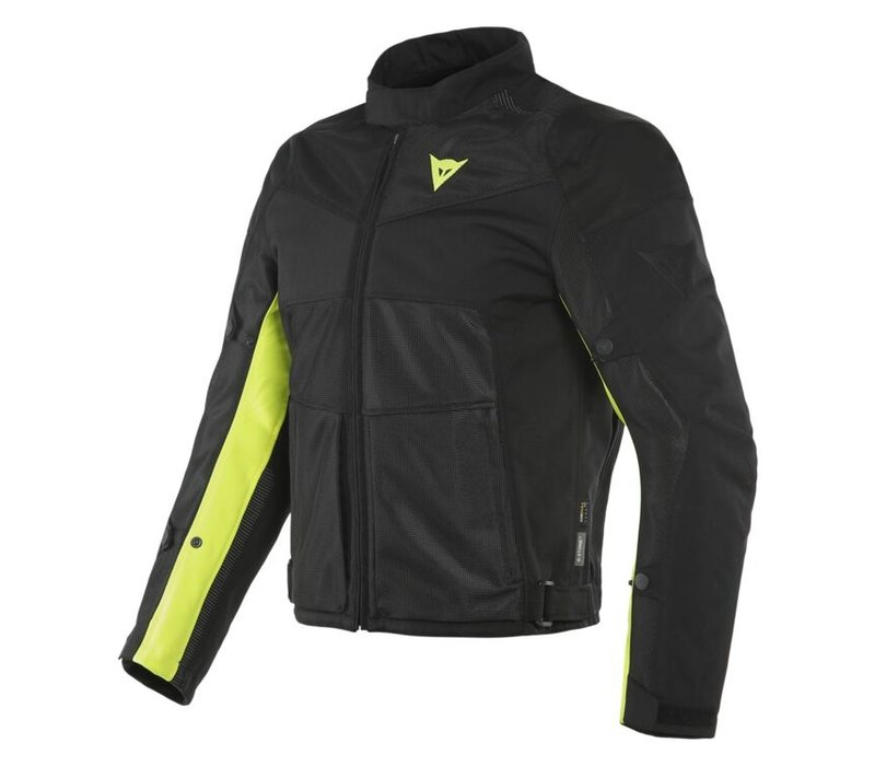 Dainese Sauris 2 D-Dry Black Fluo-Yellow Jacket? Free Shipping!