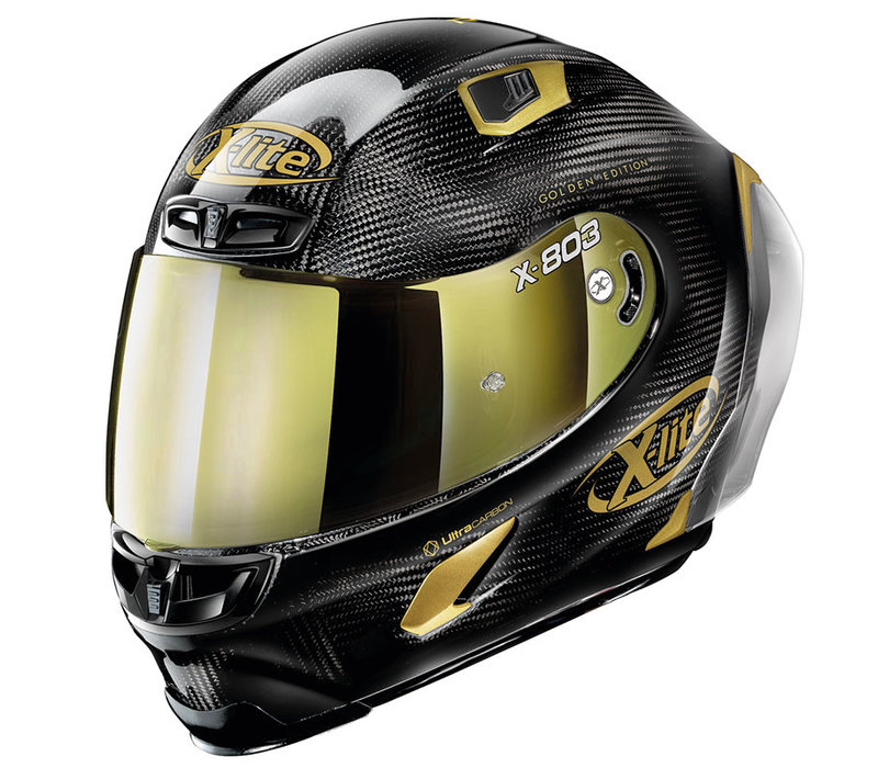 Buy X-Lite X-803 RS Ultra Carbon Hot Lap Golden Edition Helmet?