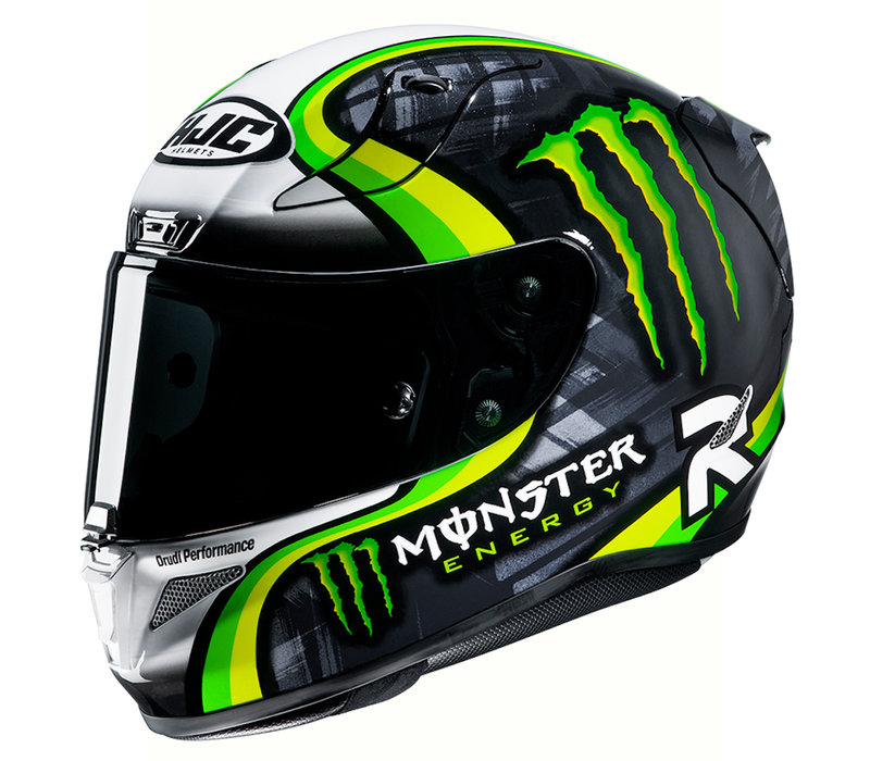 Buy HJC RPHA 11 Crutchlow Streamline Helmet? Free Additional Visor!
