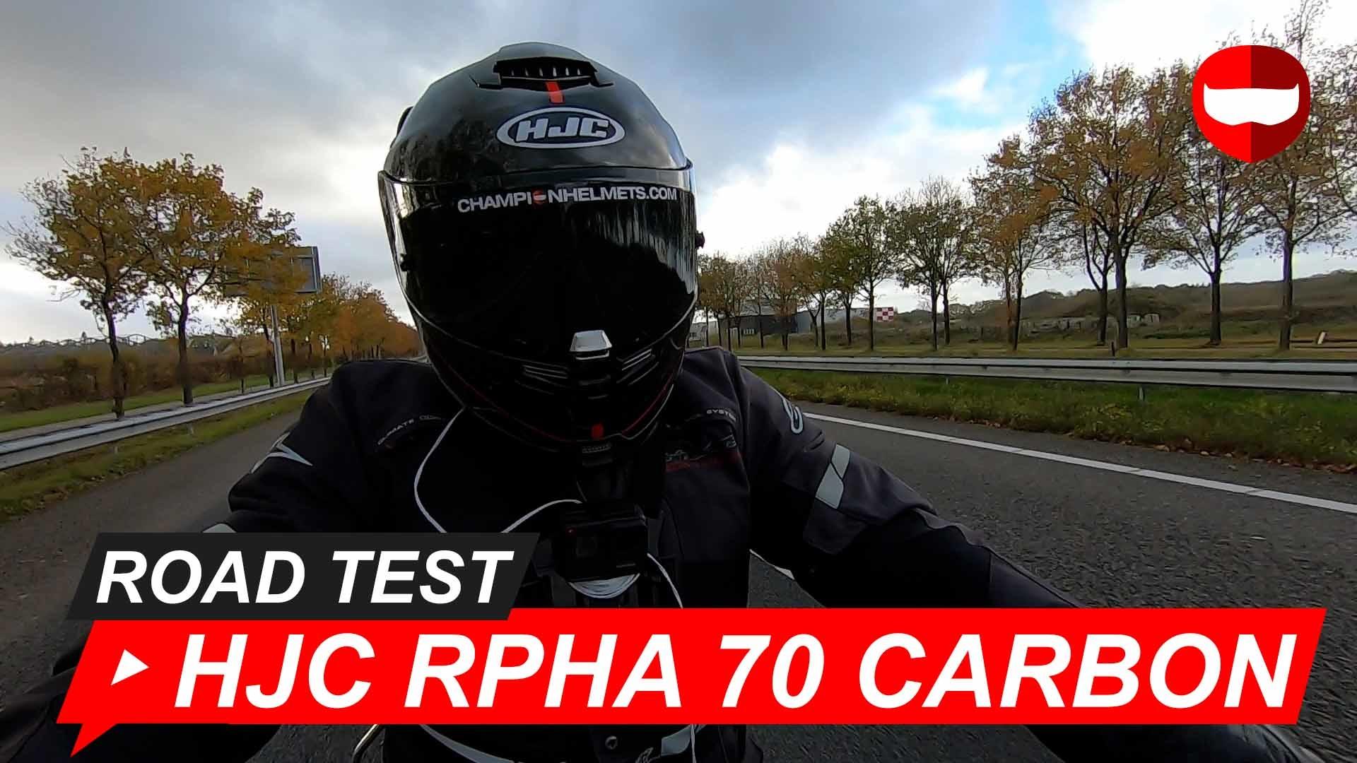 HJC RPHA 70 Carbon Road Test + Video
