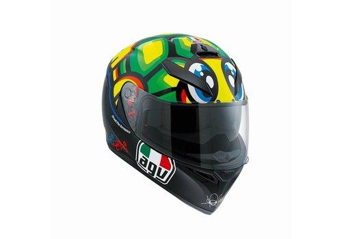 AGV K3 SV Tartaruga (Schildkröte) Valentino Rossi Helm