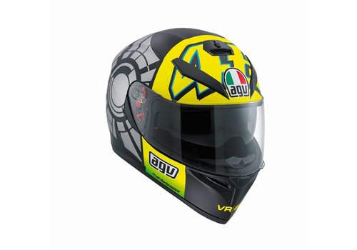 AGV K3 SV Winter Test 2012 Helm - Valentino Rossi