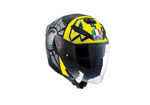 AGV K5 Jet Wintertest 2011 Open Face Helmet - Valentino Rossi
