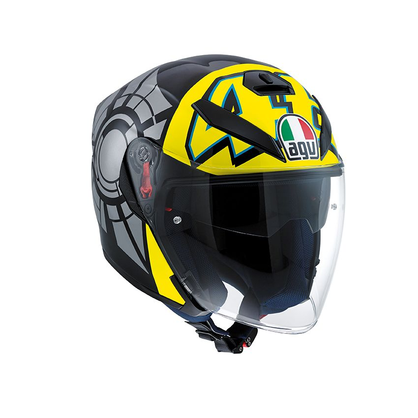 agv k5 jet wintertest 2011 helm valentino rossi. Black Bedroom Furniture Sets. Home Design Ideas