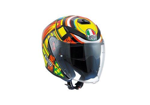 AGV K5 Jet Elements Open Face Helmet - Valentino Rossi