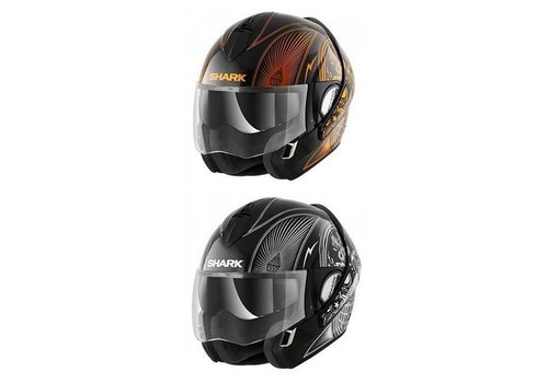 Shark Evoline 3 Mezcal Chrome Helmet