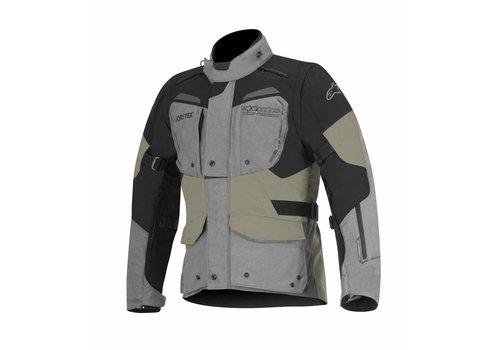 Alpinestars Durban Gore-Tex Motorradjacke Grau Schwarz