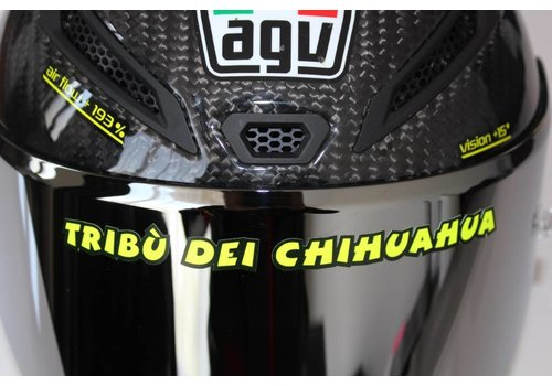 "AGV Helmet ""Tribu dei Chihuaha"" Aufkleber"