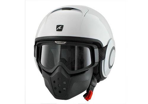Shark Raw Blank White helmet