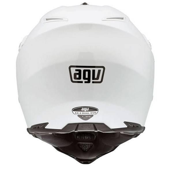 AGV AX-8 Evo Naked casco blanco - Champion Helmets