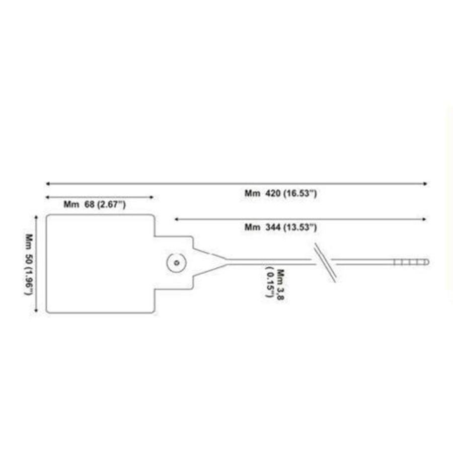 Valve lockout isolation seal (500 pcs) SSTL-03