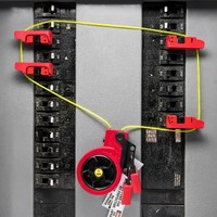 Retractable cable lock-out devices S856 and S866
