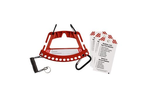 Safety lock & tag carrier 148866