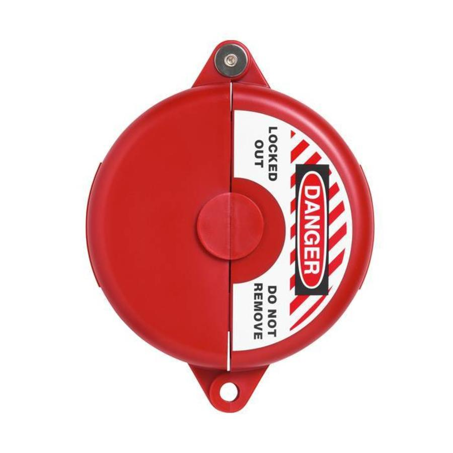 Lock-out devices for valves red V303, V305, V307, V310, V313
