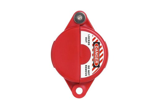 Lock-out devices for valves red V303 - V313