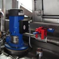 Ball valve lock-out V442, V448