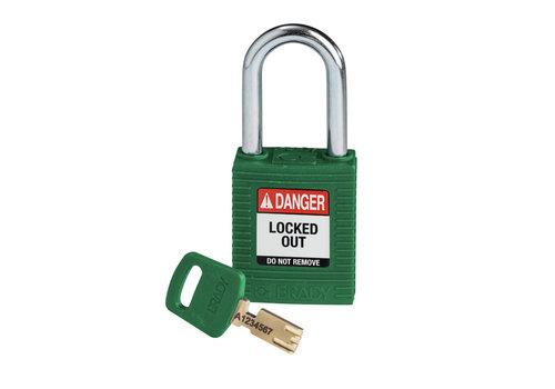 SafeKey nylon safety padlock green 150368