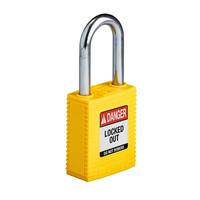 SafeKey nylon safety padlock yellow 150343 / 150225