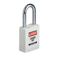 SafeKey nylon safety padlock white 150367 / 150292