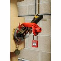 Butterfly valve lockout (Large) 121505