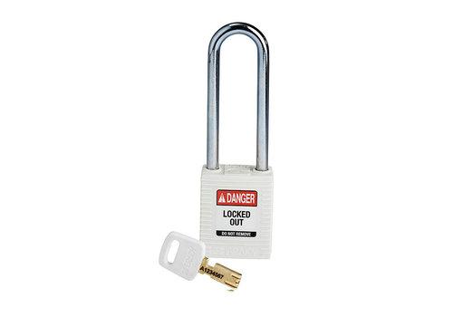 SafeKey nylon safety padlock white 150295