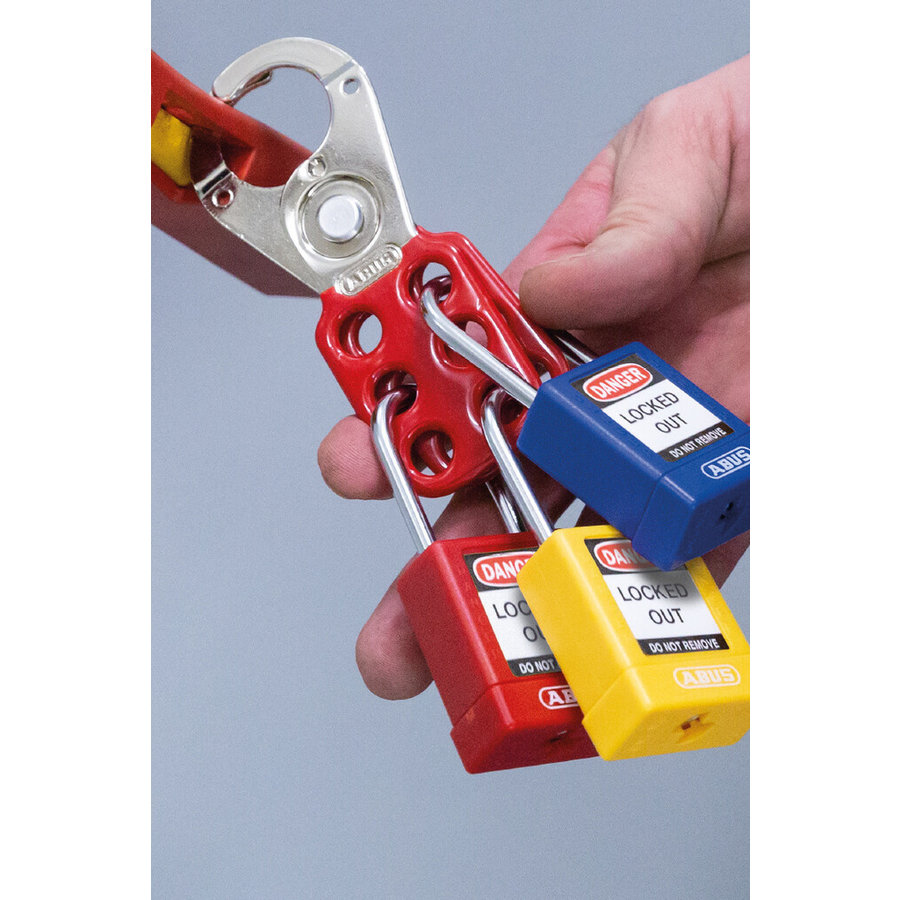 Lockout hasp steel H701, H702