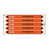 Brady Pipe markers: Acetychloride | Dutch | Acids