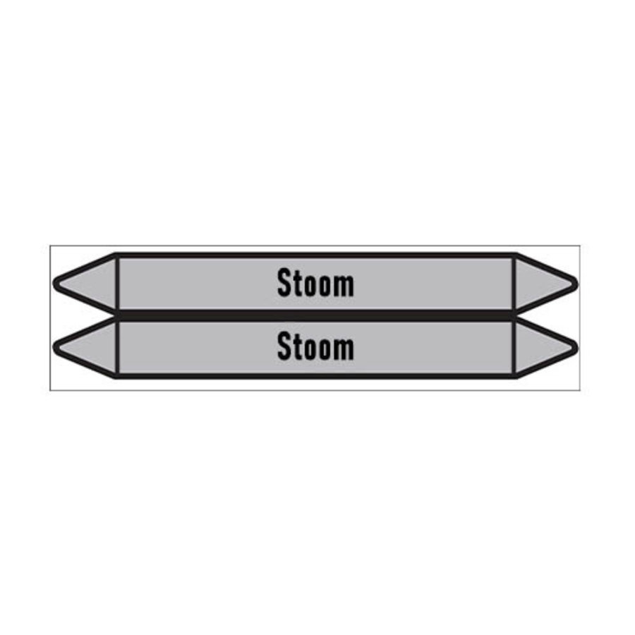 Pipe markers: HD Stoom | Dutch | Steam